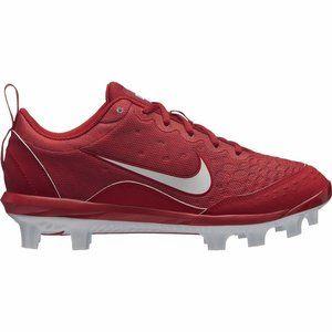 Nike HyperDiamond Red Softball Cleats Sz 6.5